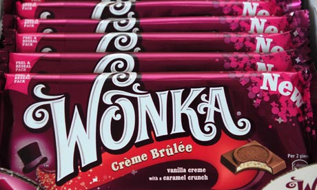 Nestlé Confectionery Launches Wonka Chocolate Bars In UK